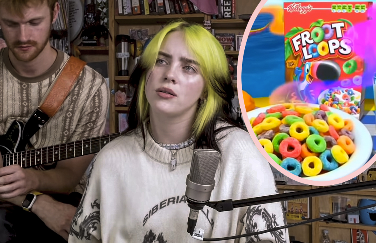 Billie Eilish Thought A Box Of Froot Loops Cost $35!