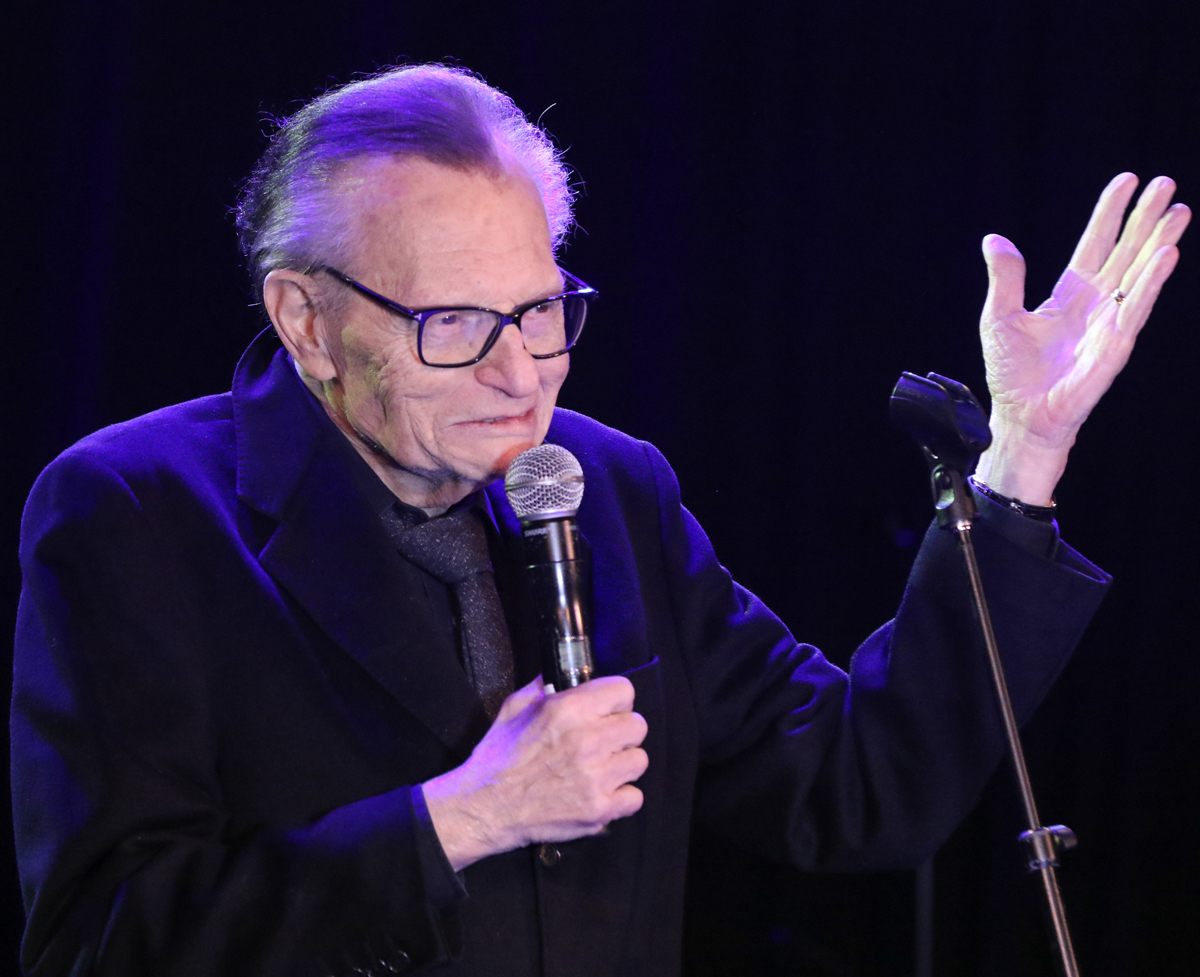 Celebs React To Larry King's Death: 'A Giant Of Broadcasting'
