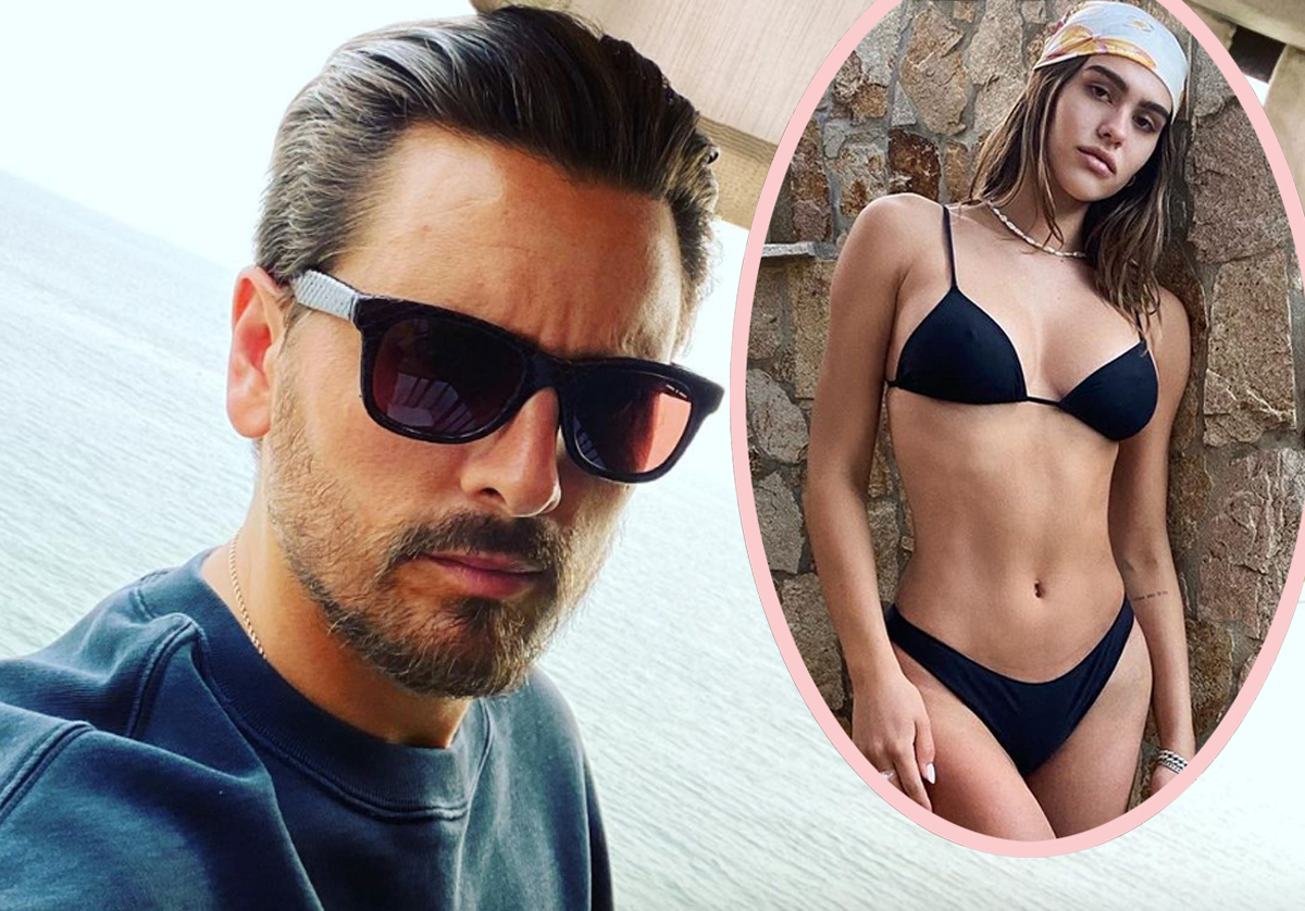 Scott Disick Spent New Years With Amelia Hamlin In Cabo — After Apparently NOT Being Invited To Her Family Christmas!