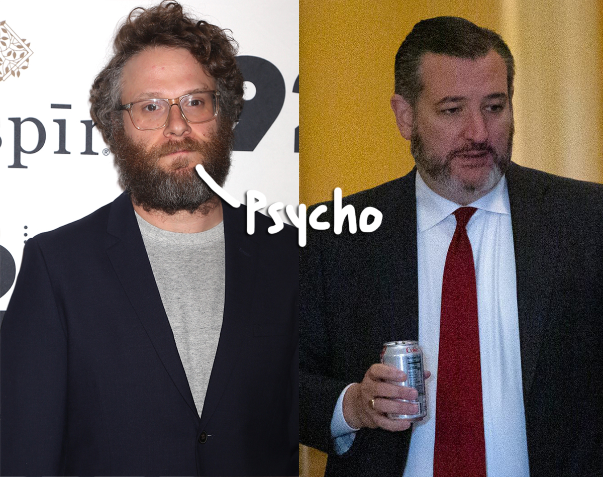 Seth Rogen & Ted Cruz Feud On Twitter & It Gets UGLY!