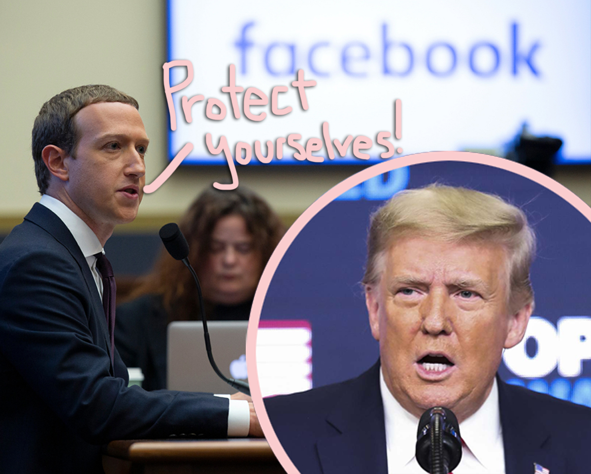 OMG! Facebook Warns Employees Not To Wear Branded Clothing For Fear Of Retaliation After Banning Trump Indefinitely!