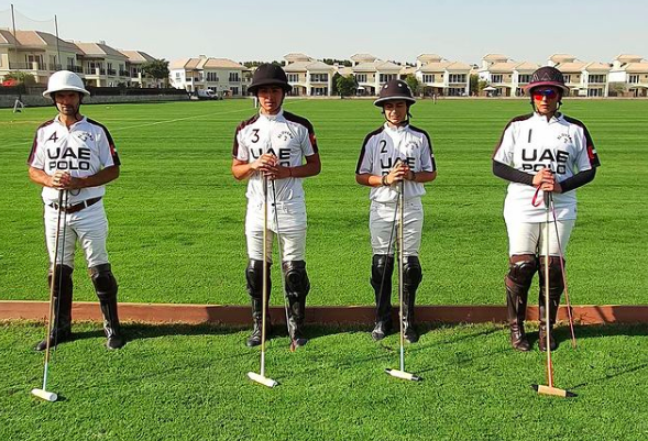 Victorious: UAE Polo team defeated Zedan Polo team en route to the semi final
