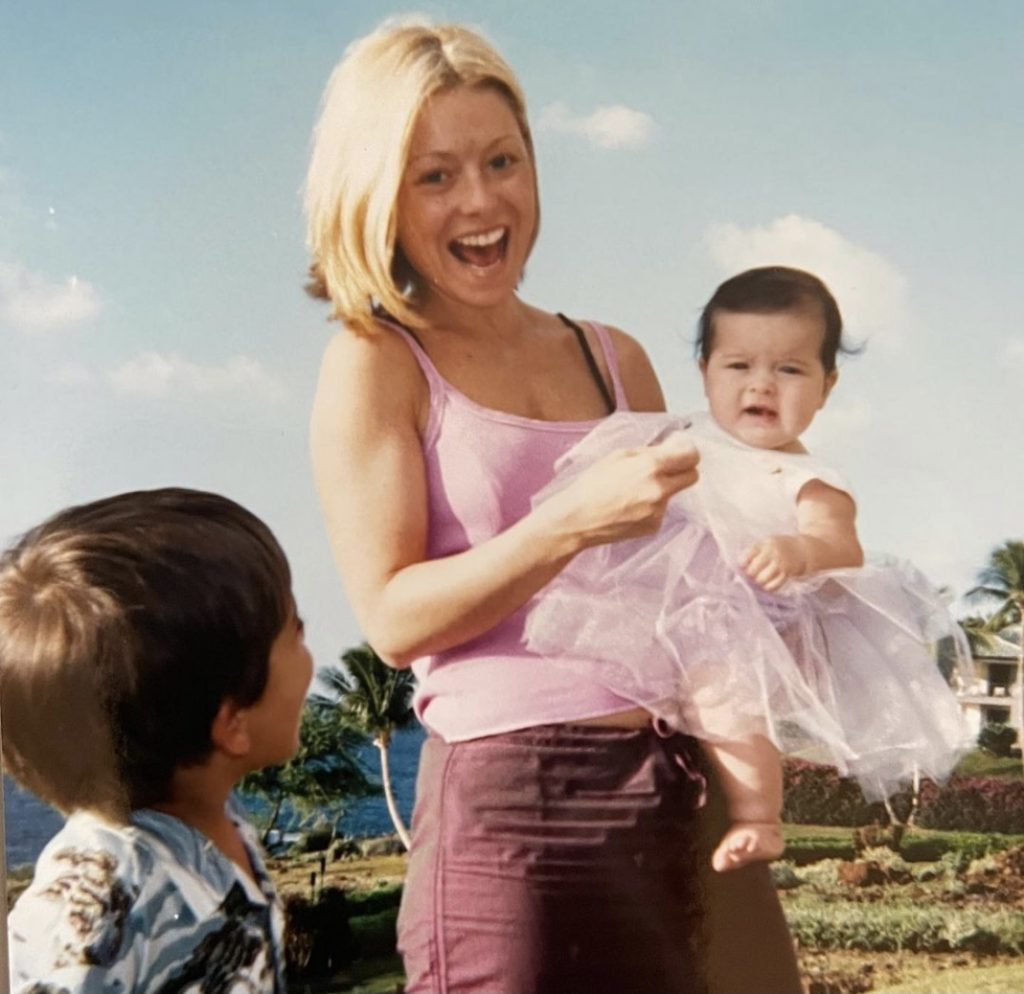 Kelly Ripa With Kids In 2001 Throwback Photo
