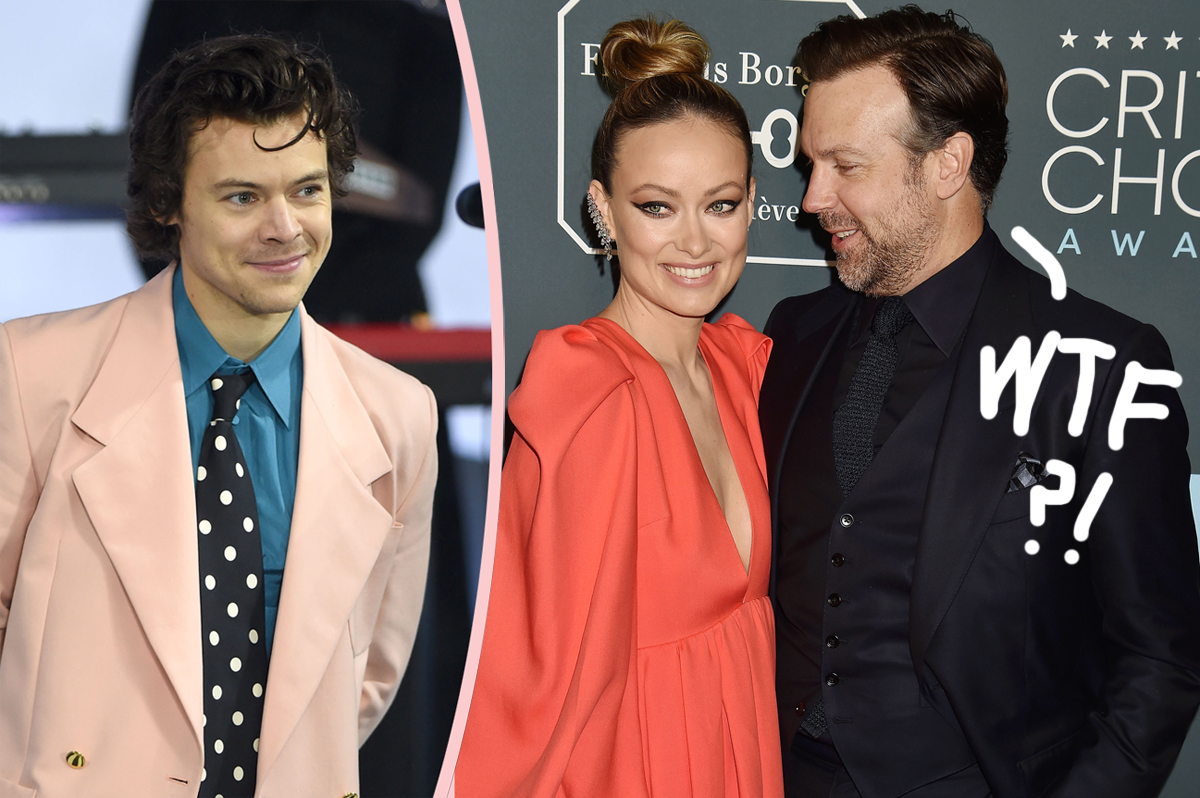 Whoa! Did Olivia Wilde Actually Leave Jason Sudeikis AFTER Meeting Harry Styles?!