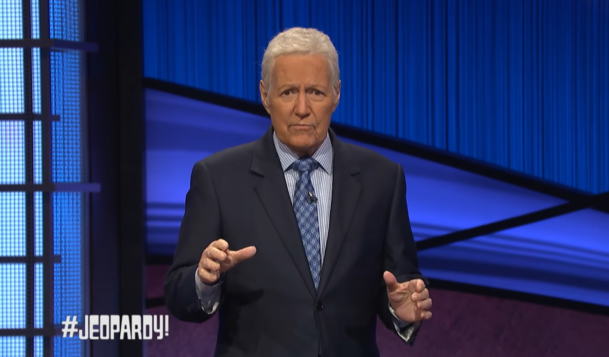 Alex Trebek's Final Jeopardy! Episodes Air This Week -- But Here's The Moving Moment You WON'T See