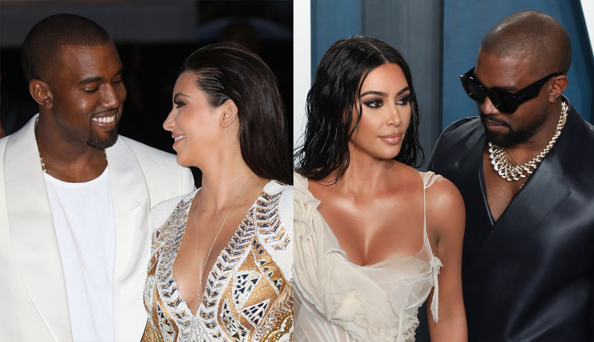Kim Kardashian & Kanye West: Through The Years