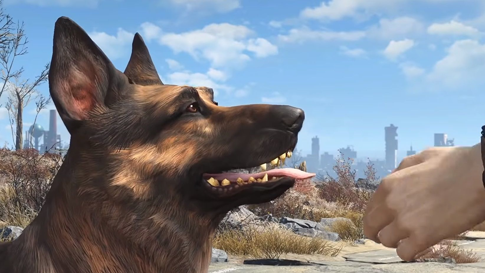 How hard is it to make your video game dog pettable?