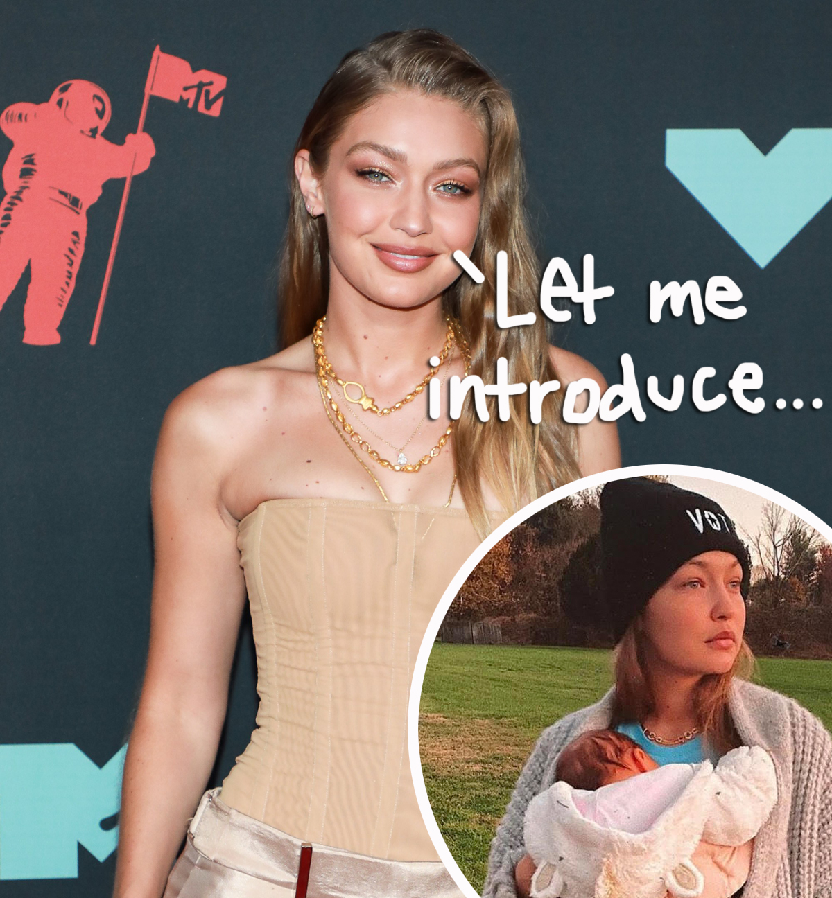 Gigi Hadid Finally Reveals Name Of Her & Zayn Malik's Baby -- & It Has A Very Special Meaning!