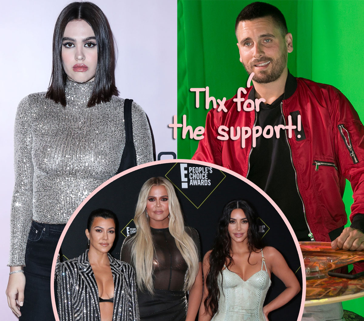 The KarJenners Are Apparently 'Super Supportive' Of Scott Disick's Relationship With 19-Year-Old Amelia Hamlin!