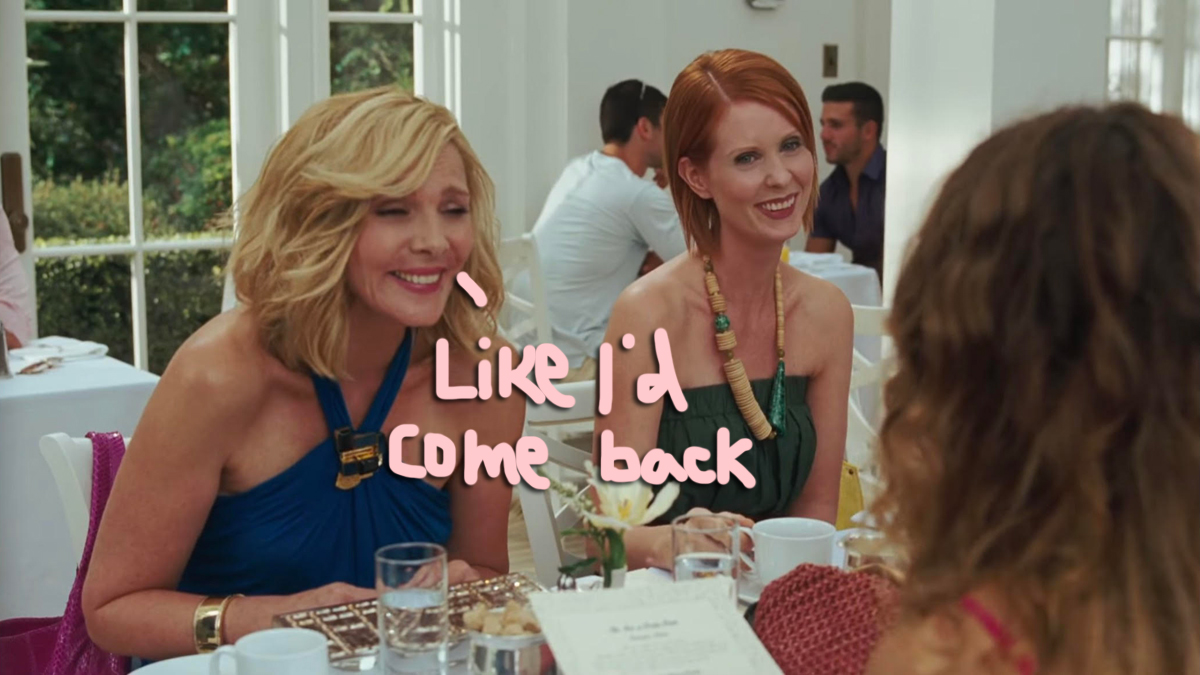 Kim Cattrall Reacts To The Sex And The City Revival Announcement — But Is There Shade??