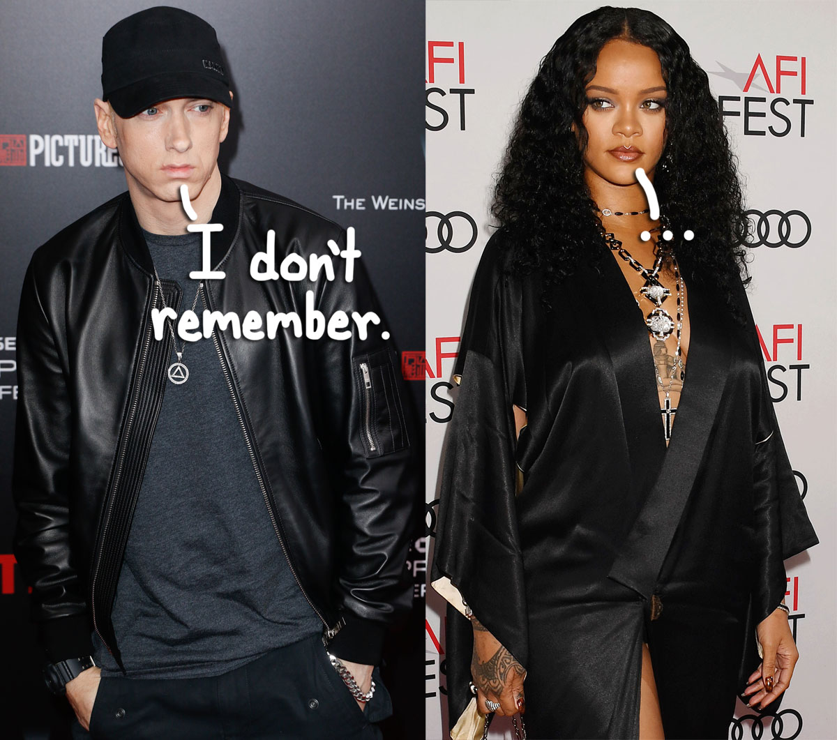Eminem Reveals He Has 'Zero Recollection' Of Recording Infamous Leaked Rihanna Diss Track — WTF?!