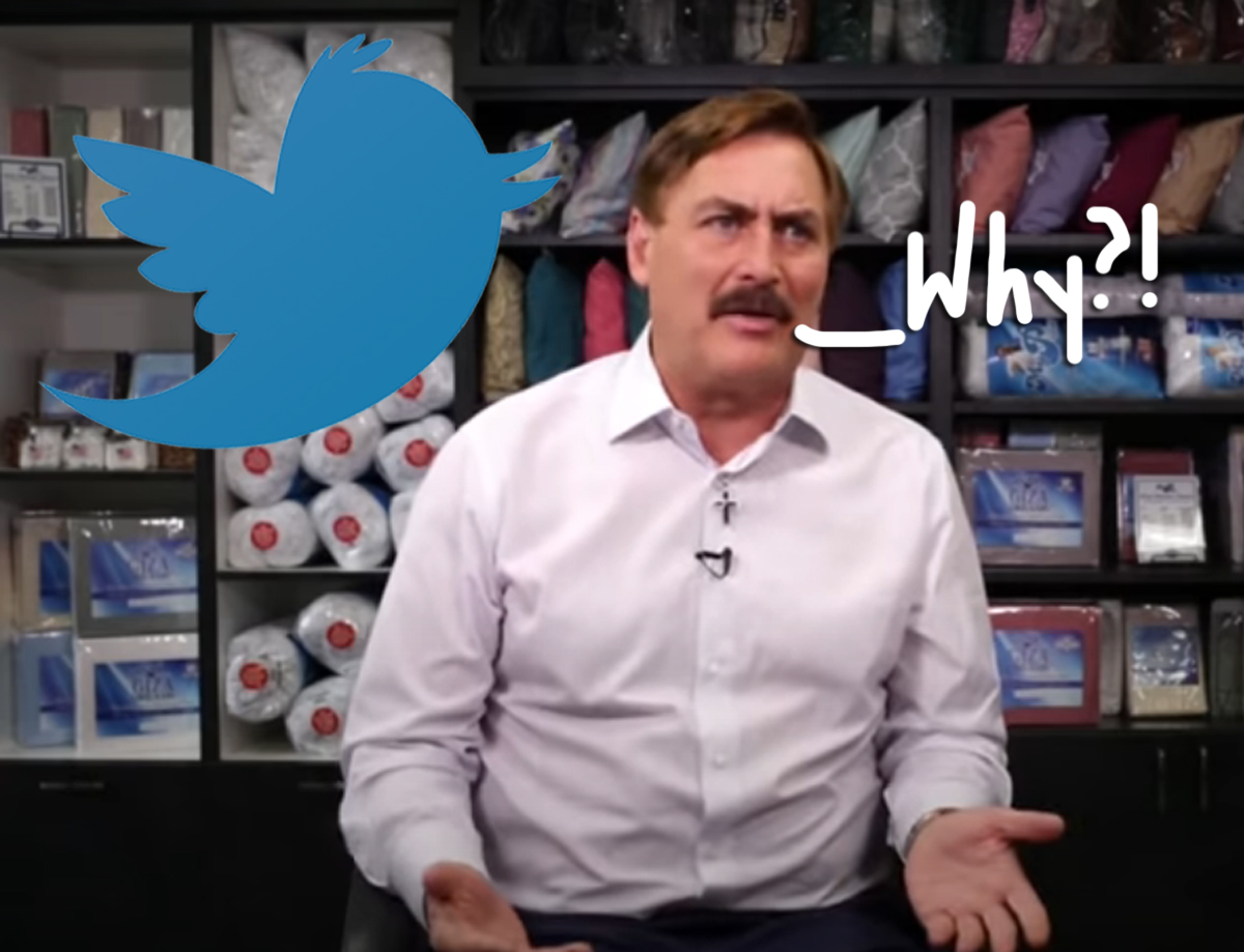 LOL, The MyPillow Guy Was Just Banned From Twitter!