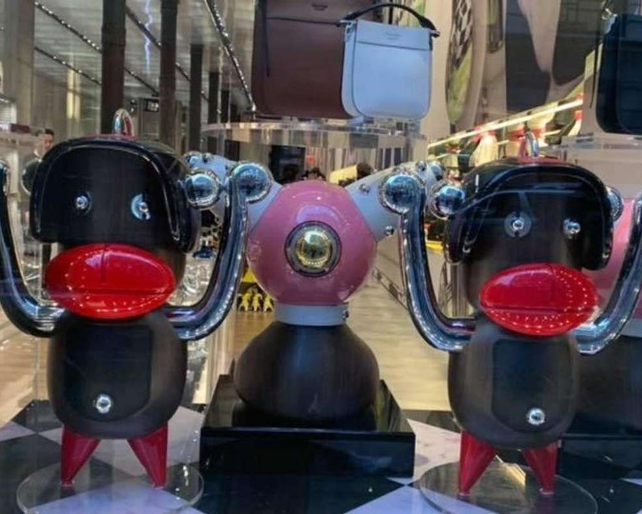 Prada Comes Under Fire For Window Display–Are The Elements Really Blackface?