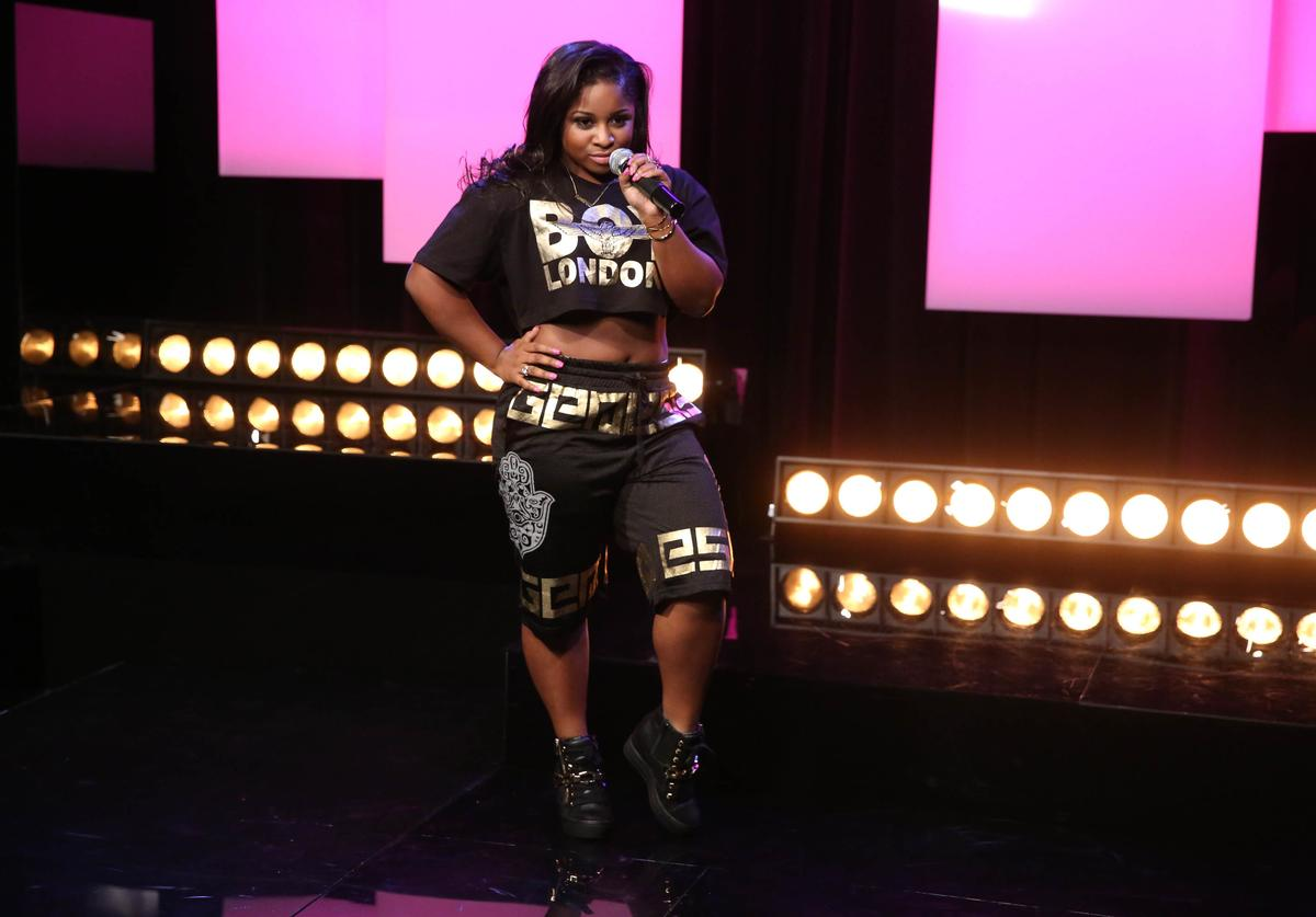 Reginae Carter Shows Off Her Flawless Figure In This Nude Outfit – See Her Recent Pics