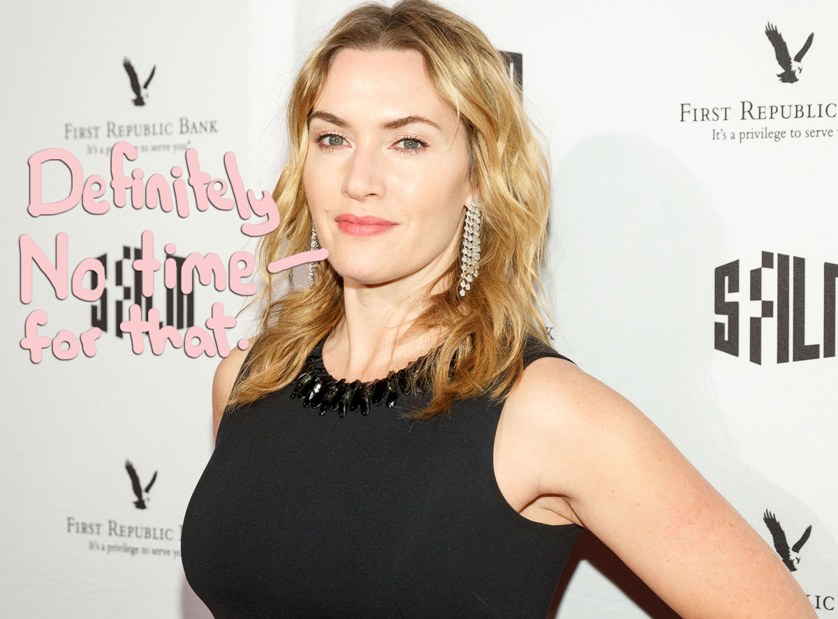 Kate Winslet Felt 'Bullied' By Press After Titanic
