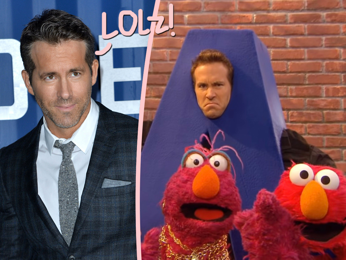 See Ryan Reynolds's Raunchy Response To Resurfaced Sesame Street Appearance!