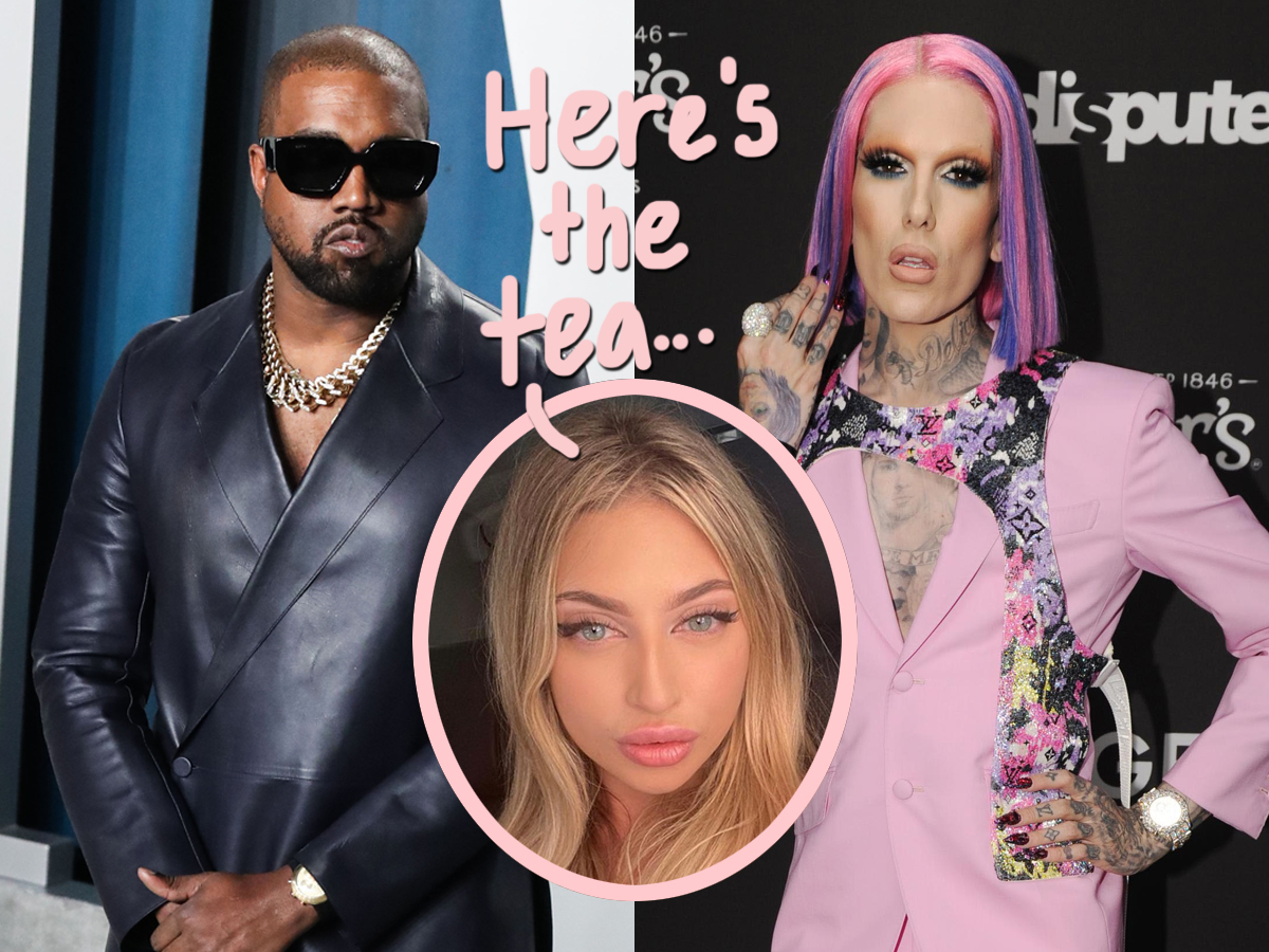 Twitter Reacts To Wild Rumor That Kanye West Has Allegedly Been Hooking Up With Jeffree Star!!