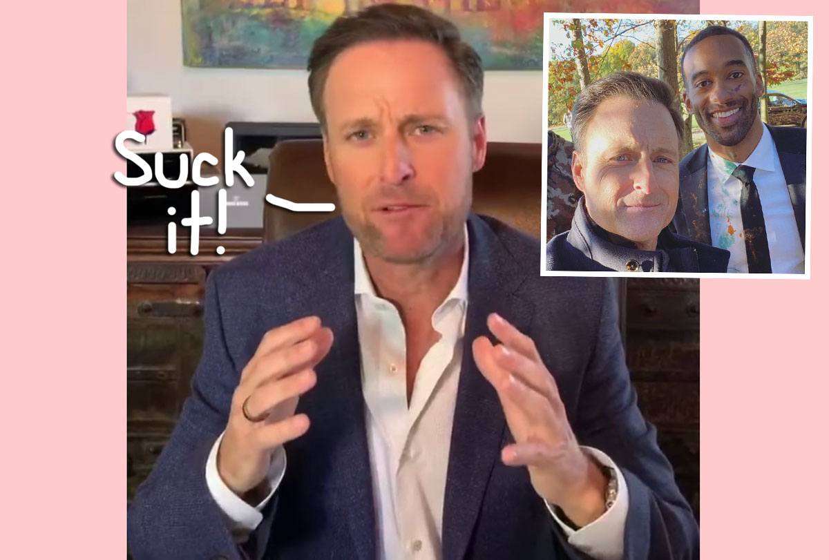 Chris Harrison Tells Troll To 'Suck It' In Spicy Instagram Comment! Whoa!