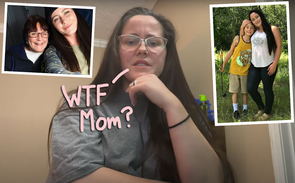 Jenelle Evans Says Mom Barbara 'Blocked' Her Amid New Custody Drama With Son Jace -- OMG!