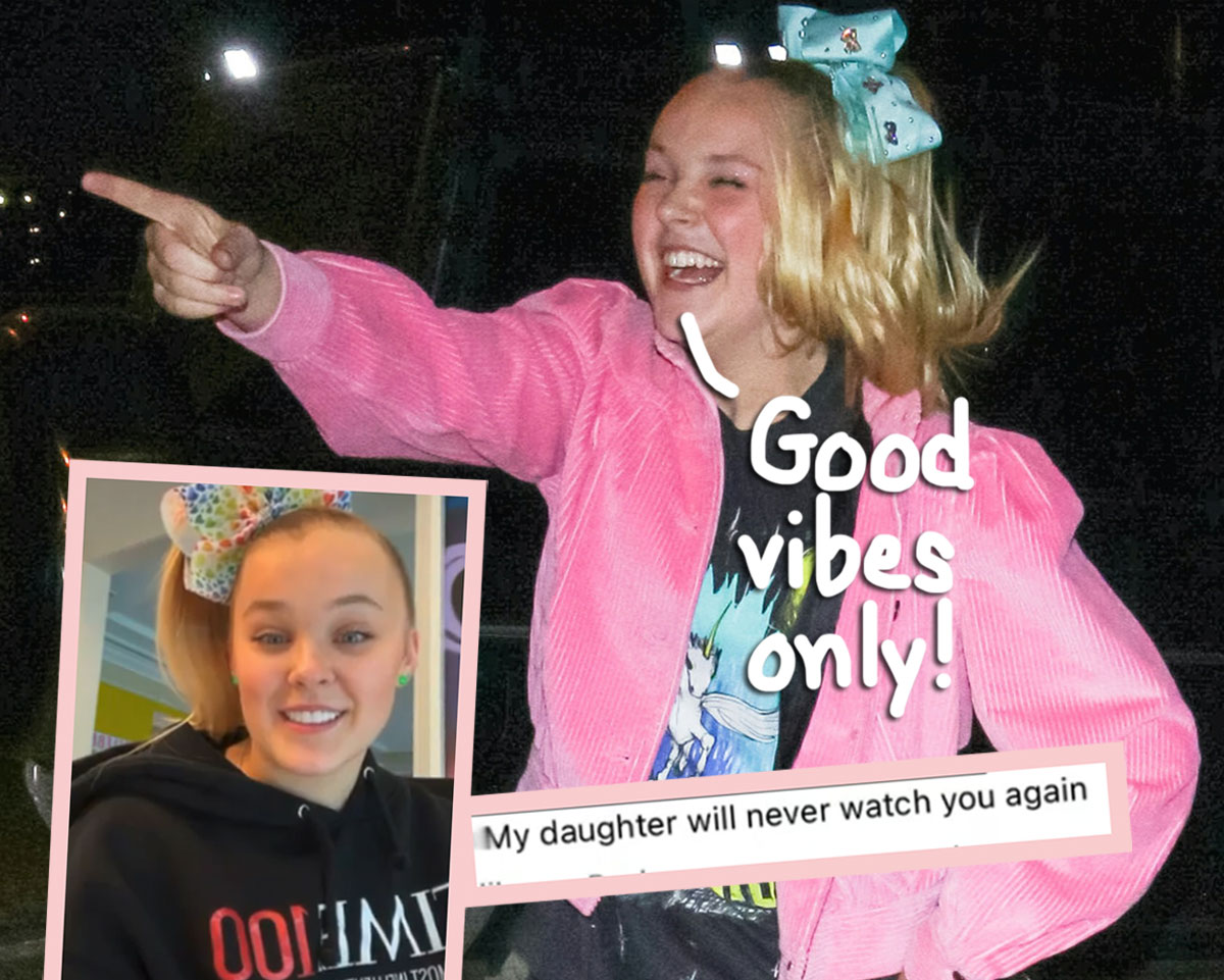 JoJo Siwa Masterfully Takes Down Troll Who Shared Hateful Comment About Her Coming Out!