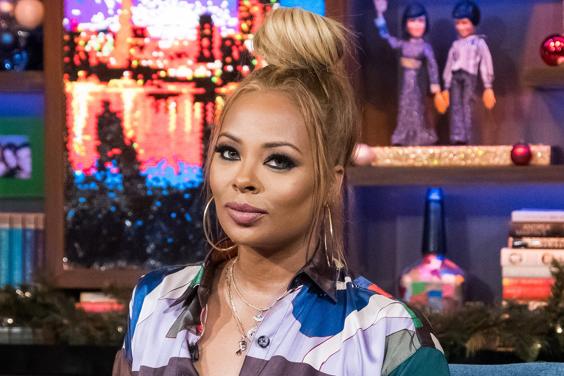Eva Marcille Drops A Photo Featuring Her Two Sons Taking A Bath Together – See It Here