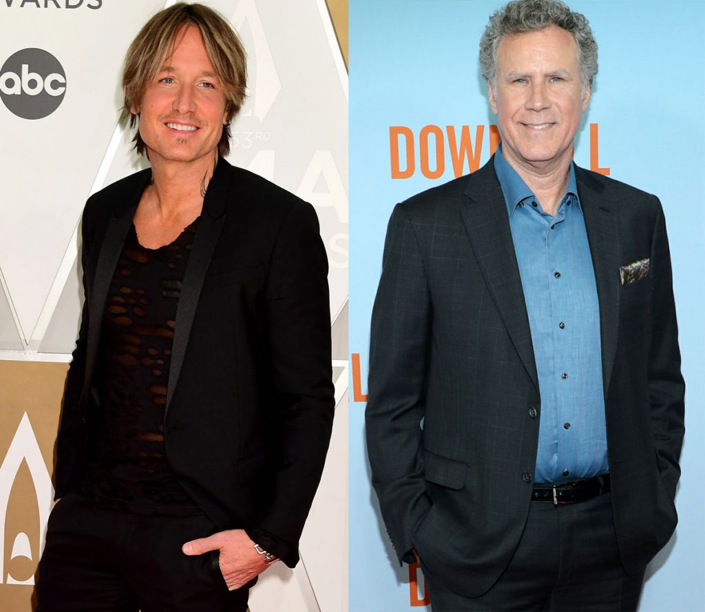 Bet you had no idea Keith Urban and Will Ferrell are the same age!