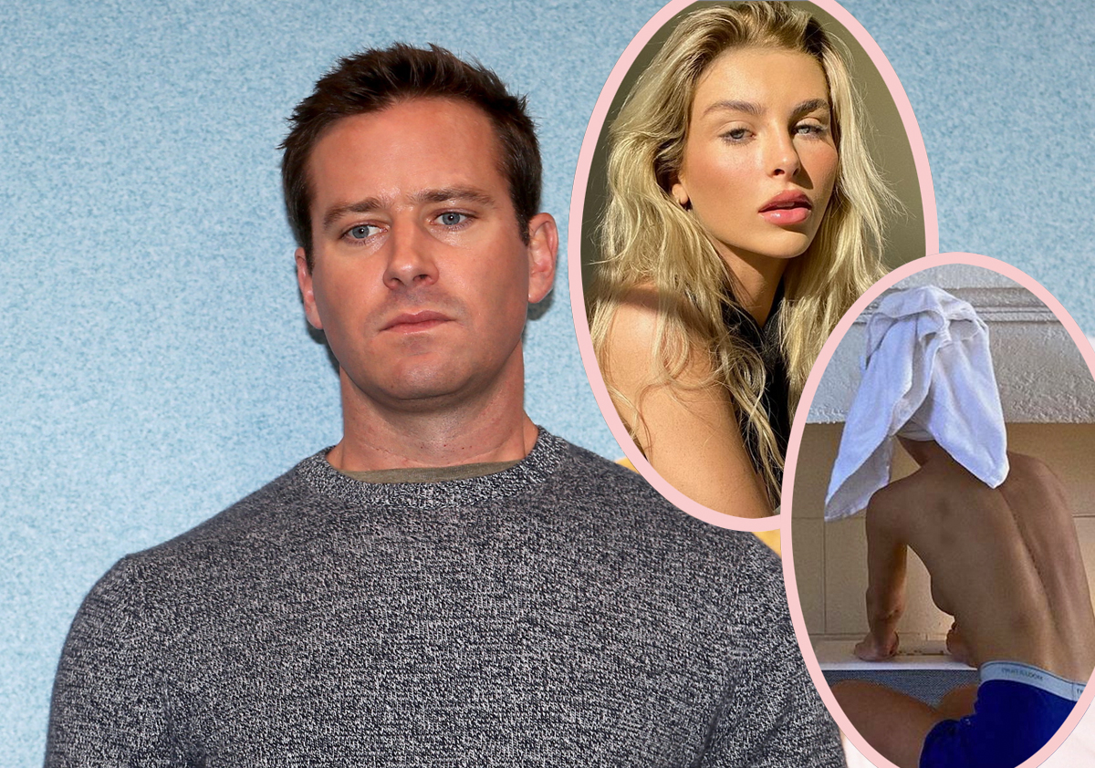 ANOTHER Armie Hammer Ex Comes Forward, Claims He Carved An 'A' Into Her With A Knife!