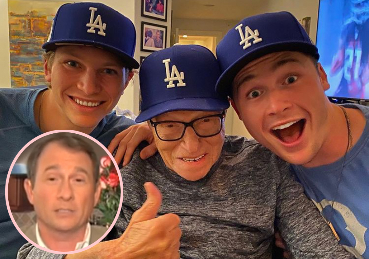 Larry King's Sons Open Up About Their Father's Death: 'We Will Miss Him Every Single Day Of Our Lives'