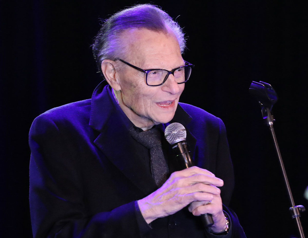 Larry King Reportedly Receiving Treatment For COVID-19 In Los Angeles Hospital