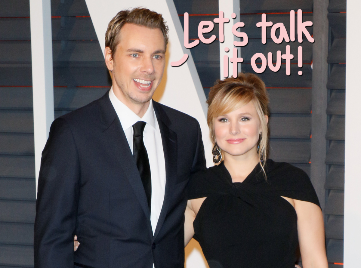 Kristen Bell & Dax Shepard 'Needed A Little Therapy Brush-Up' At The Start Of The Pandemic