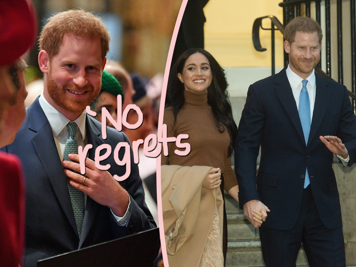 Actually, Prince Harry Is 'Thriving' In The US! Sorry, Haters!