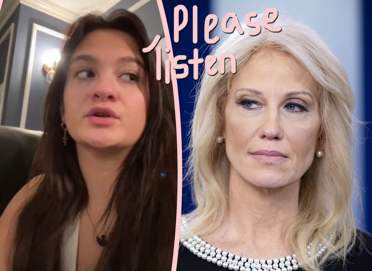 Claudia Conway Speaks Out -- Says Kellyanne Didn't Post Nude Photo, Declares Social Media Break