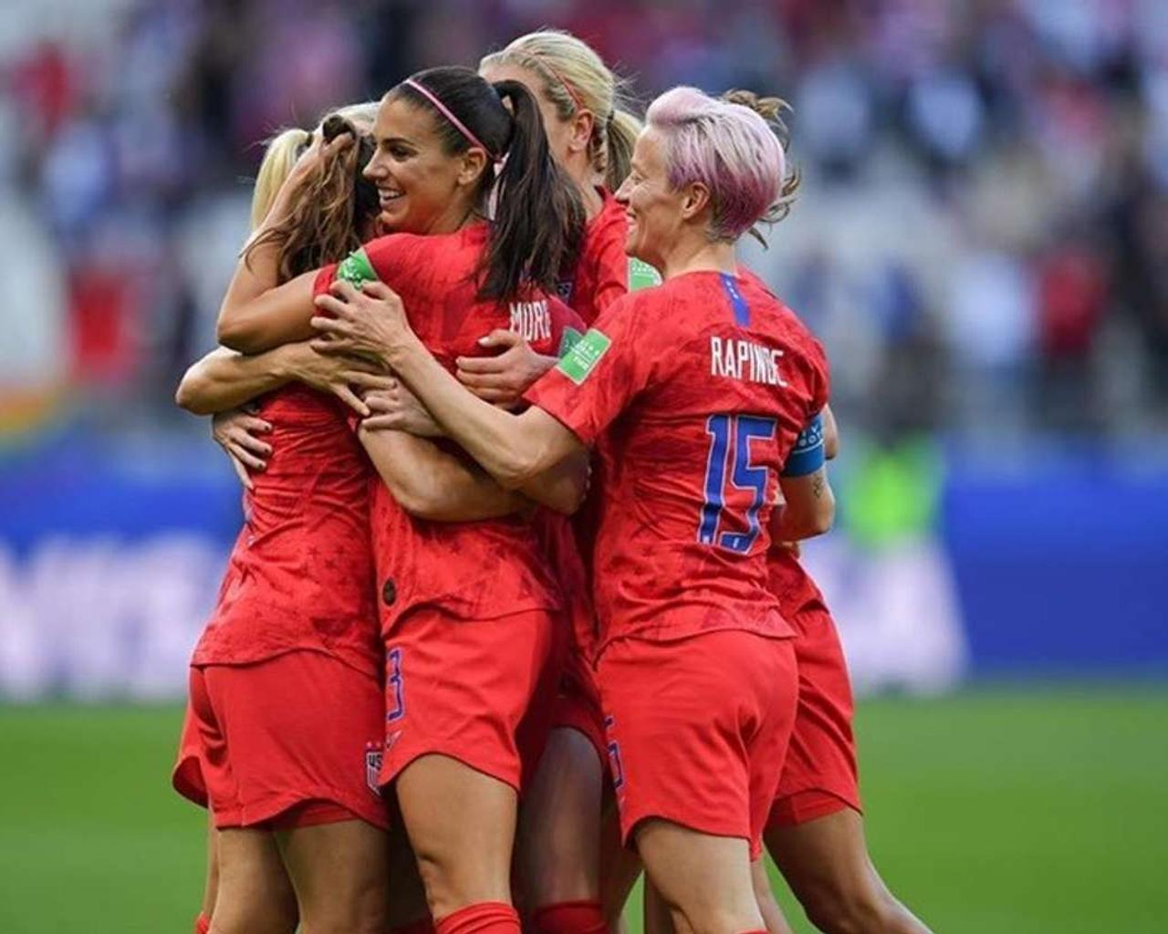 After Big Wins Against Thailand And Chile; USA Celebrating Goals At 2019 FIFA World Cup Still Has People Talking