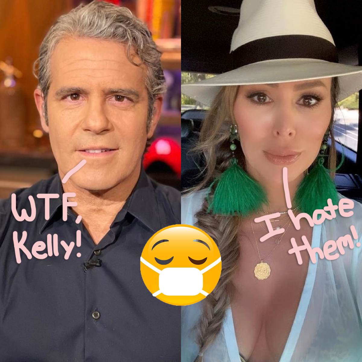 Andy Cohen & Kelly Dodd Clash On RHOC Reunion Over Her Problematic Pandemic Behavior!