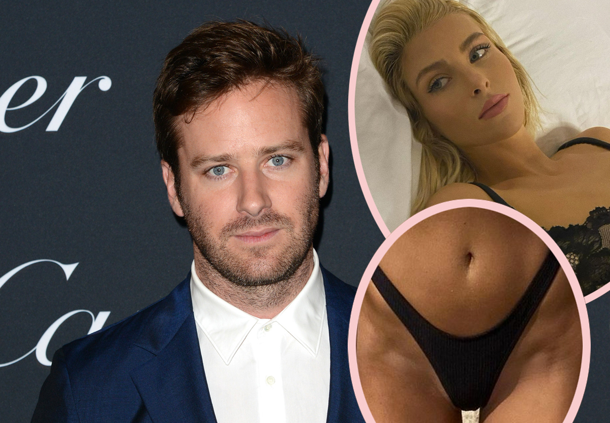 Armie Hammer's Ex Claims He Branded Her Like NXIVM -- His Own Mother Tried To Give Him An Exorcism!