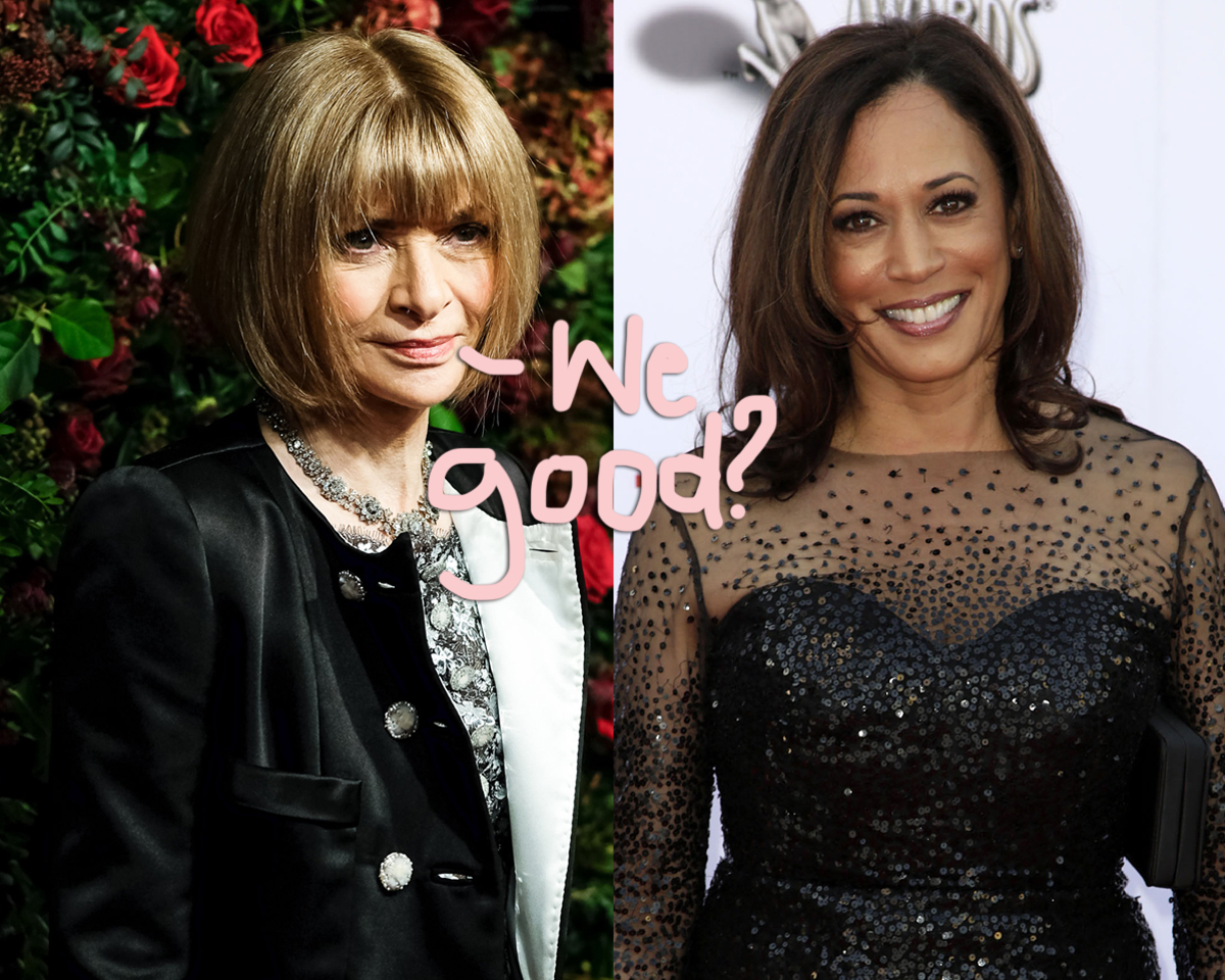 Anna Wintour Speaks Out About Kamala Harris Cover Controversy: 'We Have Heard And Understood The Reaction'