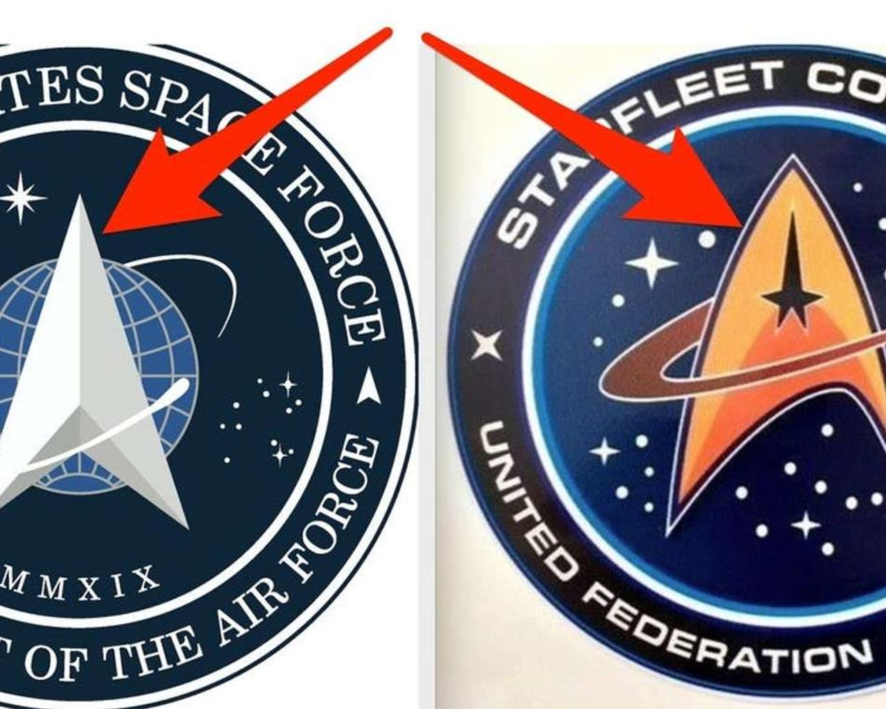 New Space Force Logo Has Been Unveiled—And Draws To Mind Another Logo