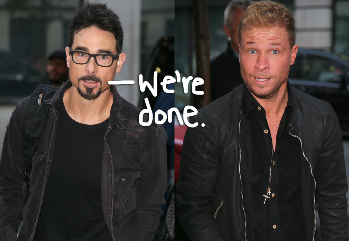 Noooo! Backstreet Boys' Kevin Richardson Seemingly Throws Shade At Brian Littrell Over Getting Red-Pilled Into QAnon Nonsense