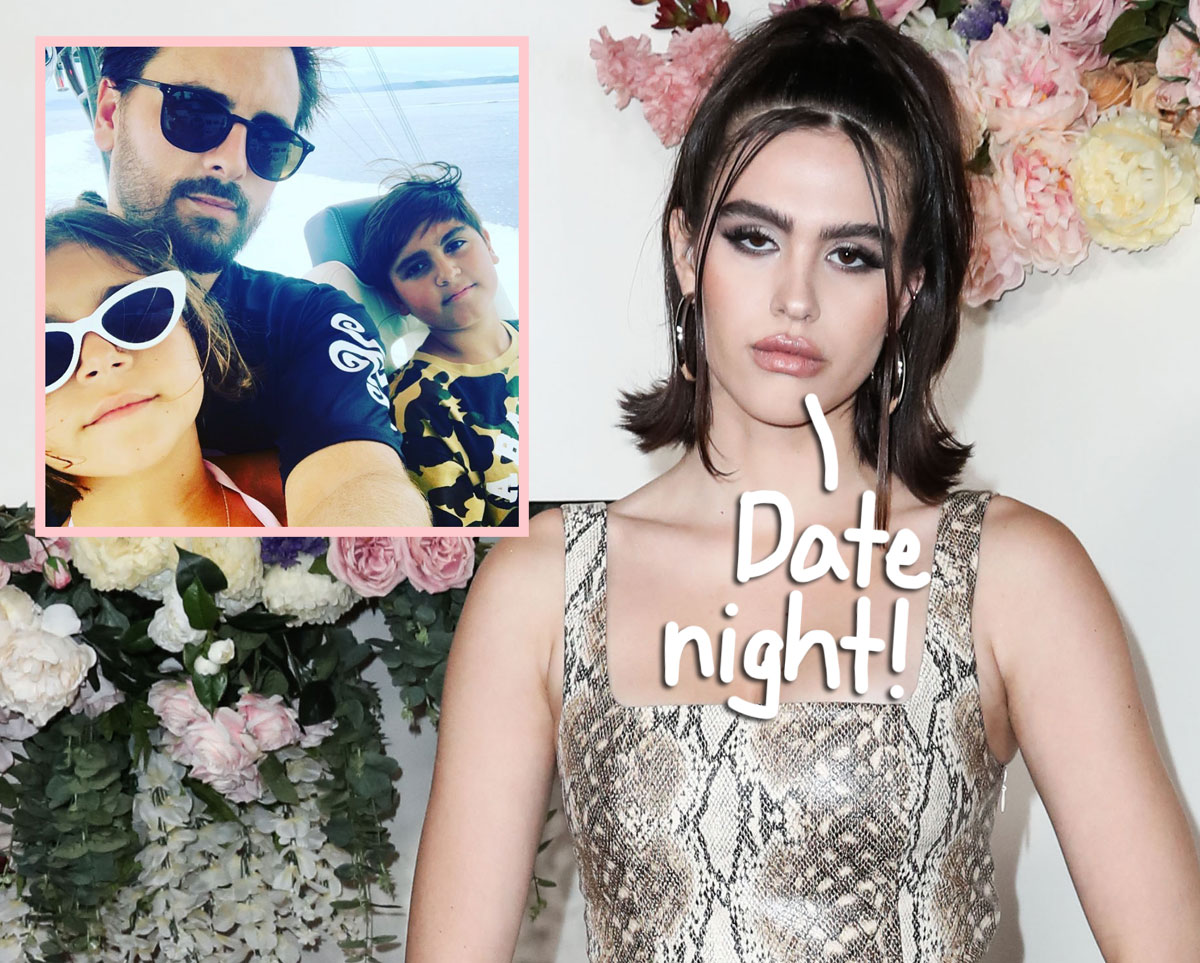 Everything You Need To Know About Scott Disick's 'Super Sweet' Date Night With Amelia Hamlin — And His Kids!