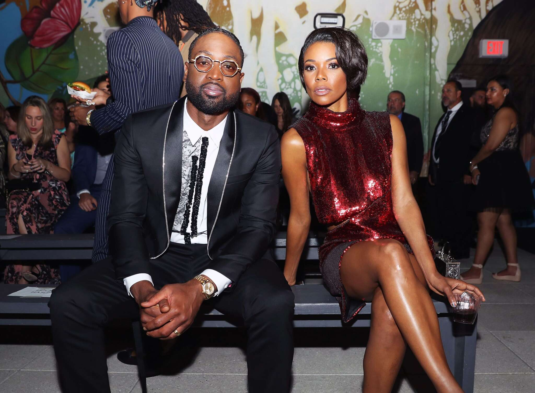 Gabrielle Union Poses With Dwyane Wade, Talking About Parenthood