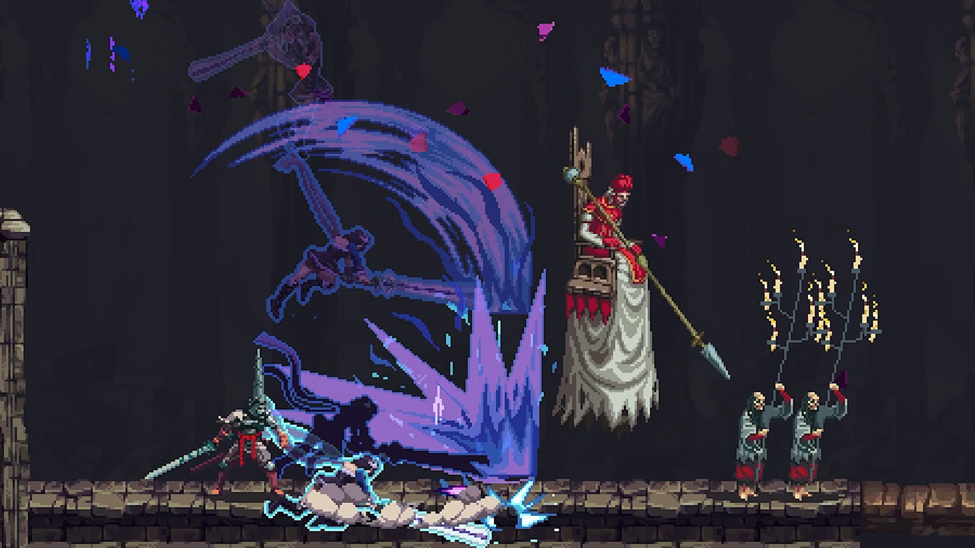 Blasphemous's next free update is a crossover with Bloodstained