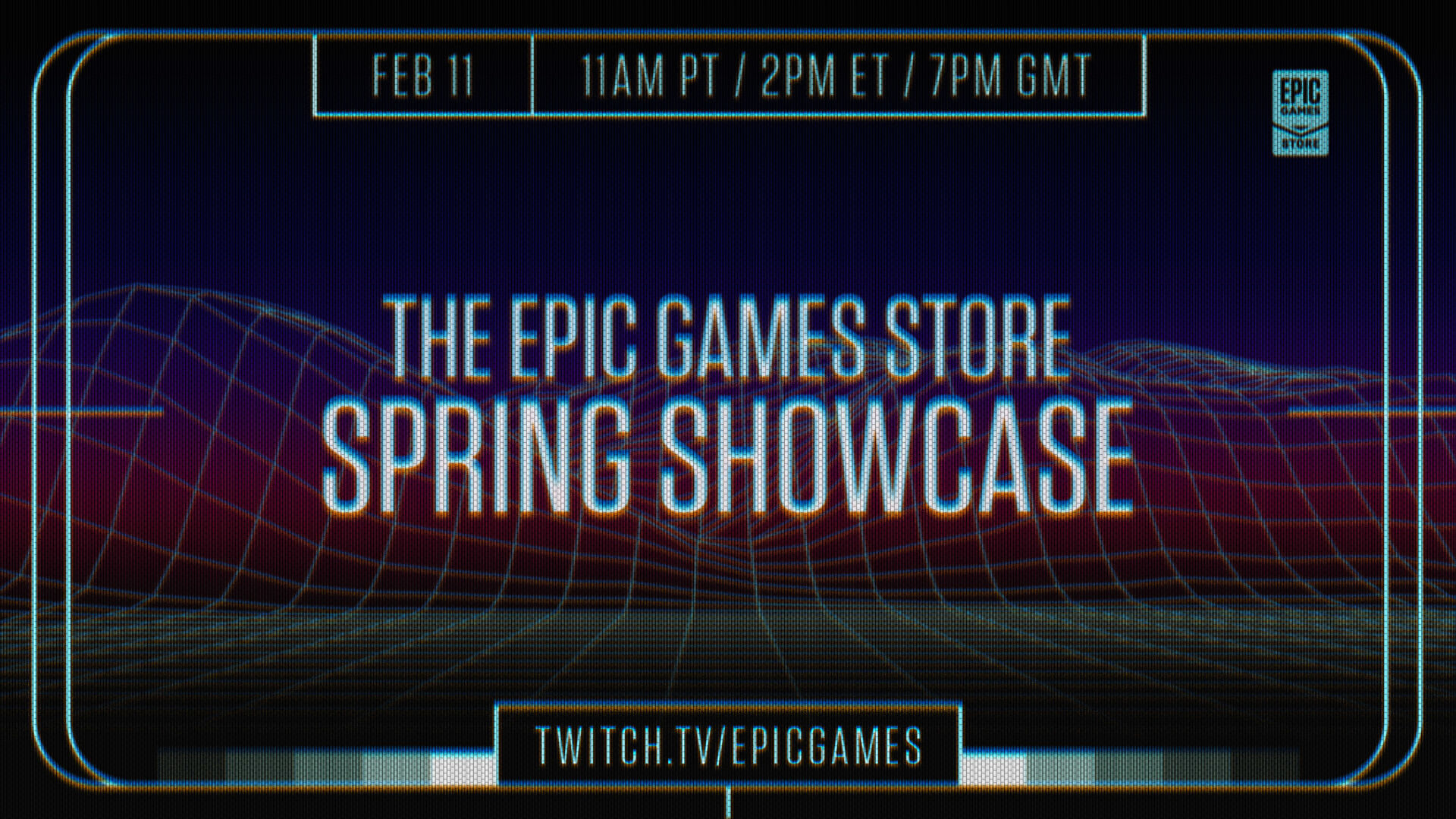 Watch the Epic Games Store showcase here today for new announcements