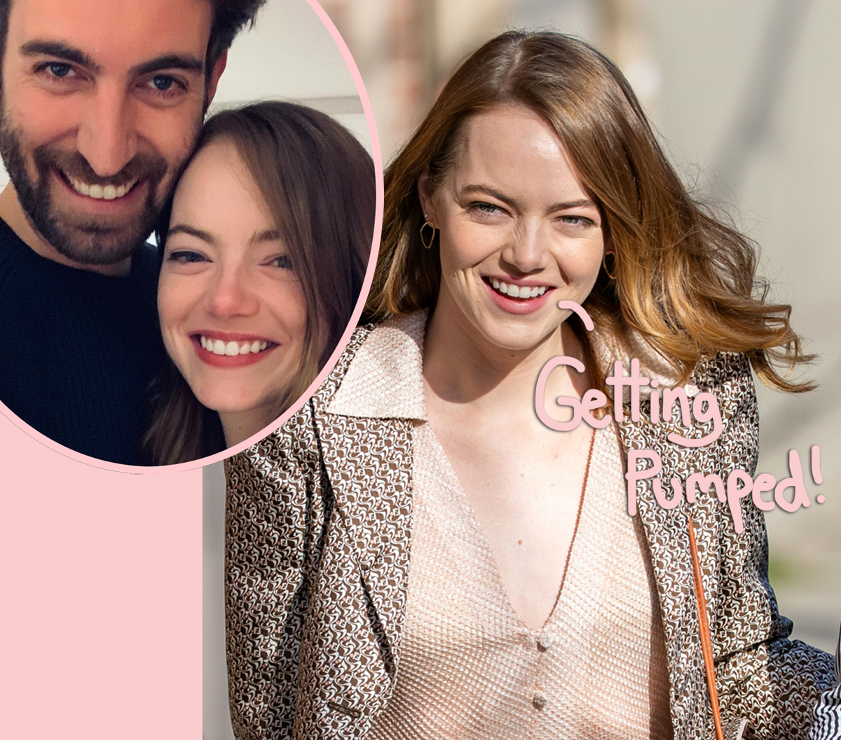 Emma Stone Shows Off Growing Baby Bump While Running Errands!