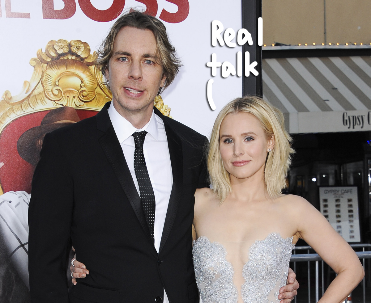 Kristen Bell Claps Back At Critic Who Says She & Dax Shepard 'Can't F**king Stand Each Other'