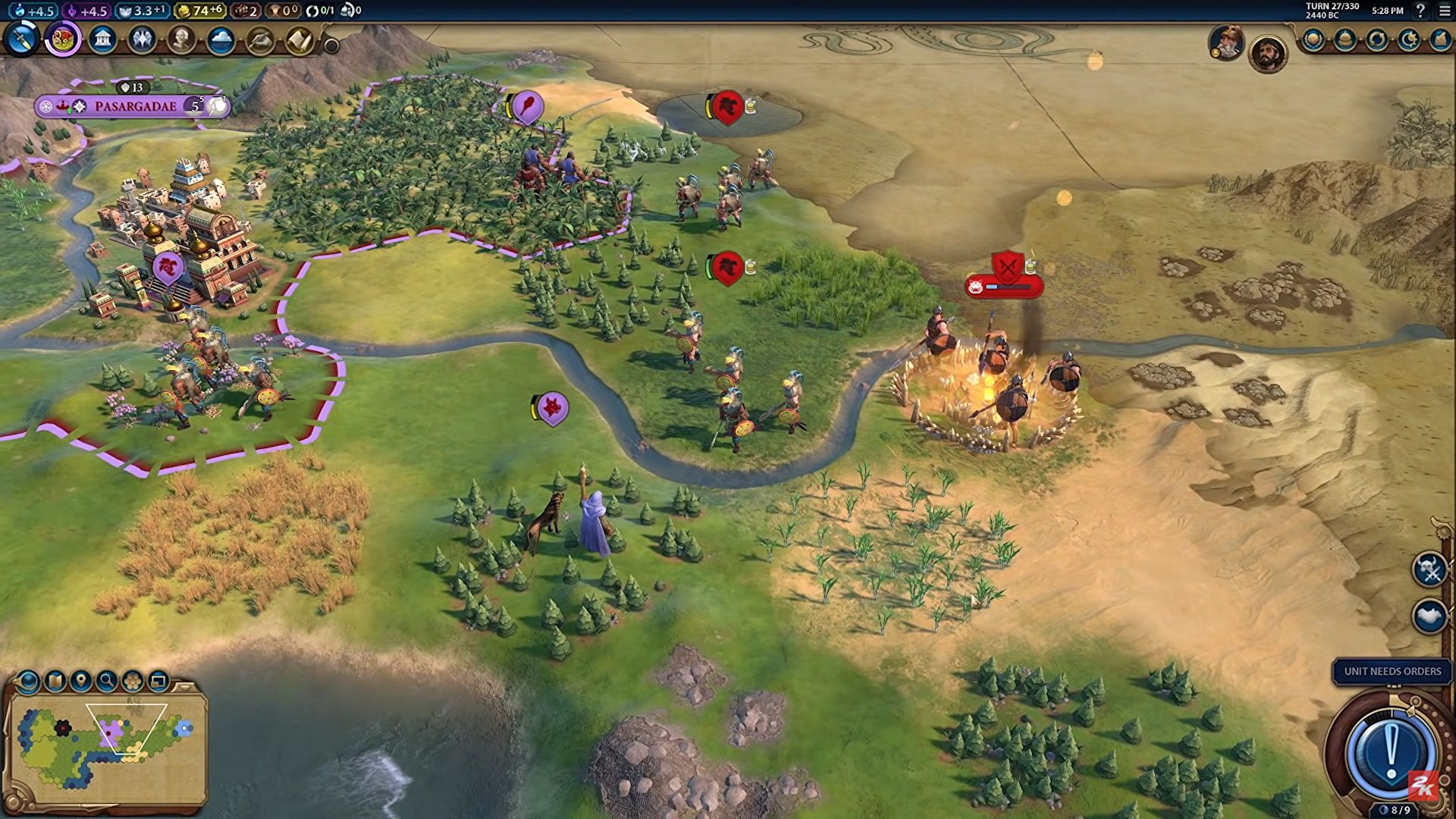 Civilization 6 will soon let you cooperate with your friendly neighbourhood barbarians