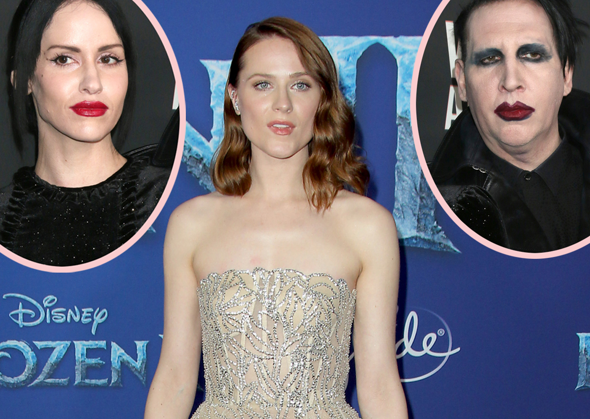 Evan Rachel Wood Claims Marilyn Manson's Wife Threatened To Release Underage Photos Of Her