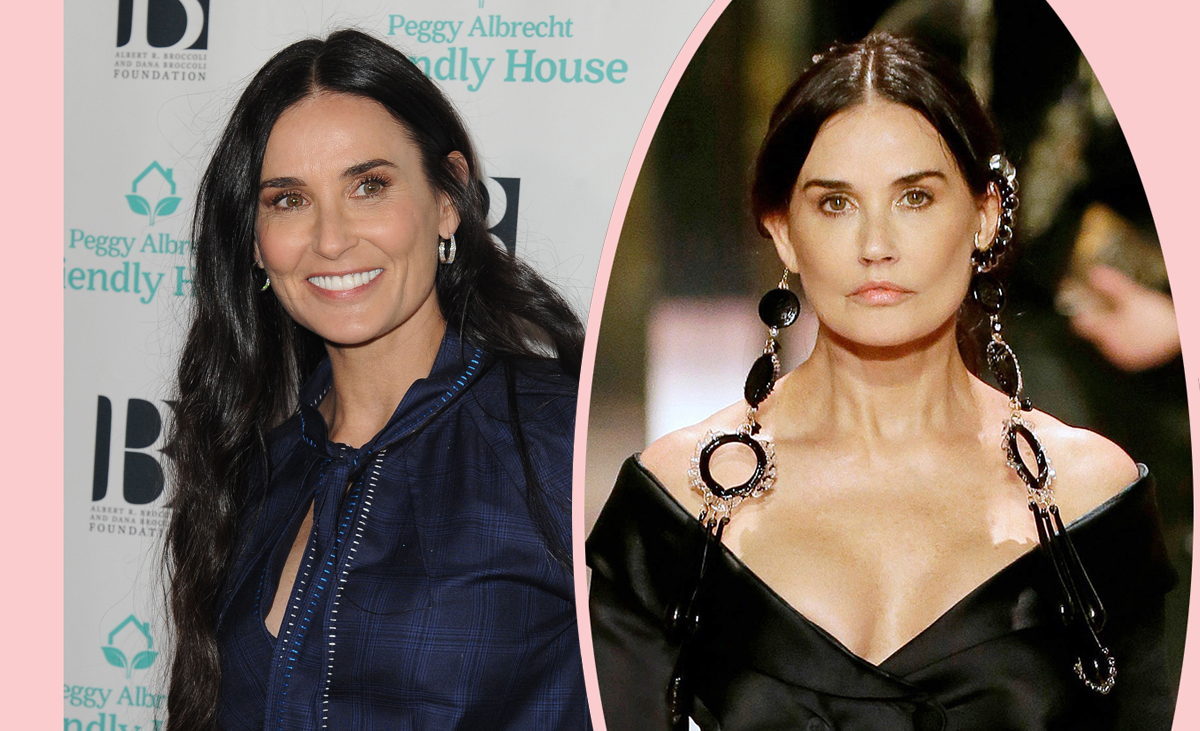Demi Moore Discusses Runway Show Where She Looked 'Unrecognizable'