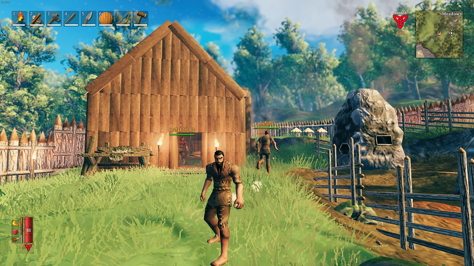 I just want the bees in Valheim to be happy