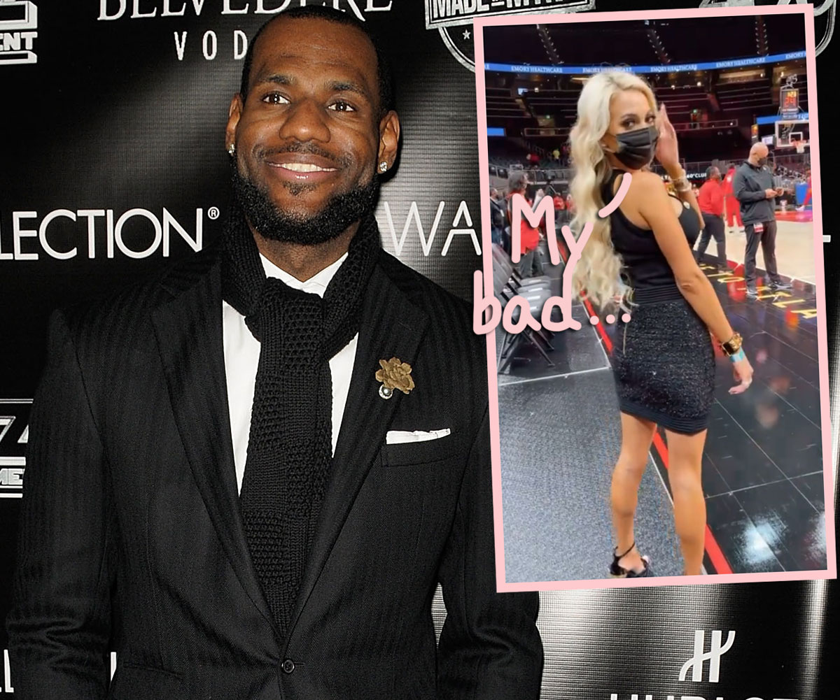 'Courtside Karen' Apologizes To LeBron James — But Was There REALLY A Change Of Heart?!