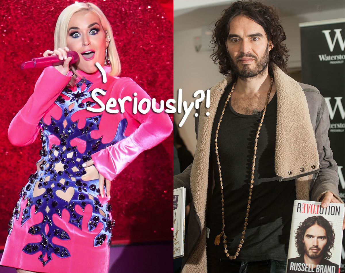 Russell Brand Claims He 'Really Tried' To Save His 14-Month Marriage To Katy Perry — Really, Dude??